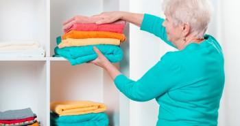 organização da casa de um idoso com Alzheimer